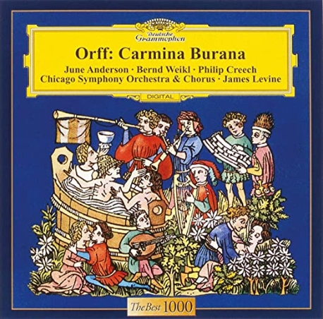 오르프 : 카르미나 부라나 Orff: Carmina Burana James Levine