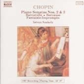 [중고] Istvan Szekely / Chopin - Piano Sonatas Nos.2 & 3 (수입/8550071)