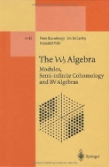 The W3 Alebra : Modules, Semi-infinite Cohomology and BV Algebras (Lecture Notes in Physics - Monographs, Vol. m42)  (ISBN : 9783662140925)