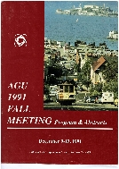 AGU 1991 Fall Meeting : Program and Abstracts (Supplement to