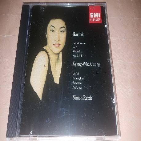 정경화 - Bartok : Violin Concerto No.2 (Simon Ratt)