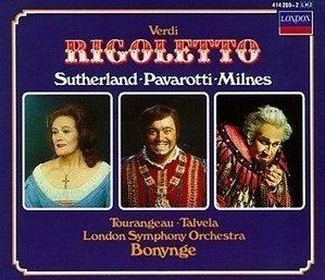 Richard Bonynge / 베르디 : 리골레토 (Verdi : Rigoletto) (2CD Box Set/수입/4142692)