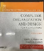 Computer Organization and Design 3rd Edition, (I/E) ★CD없음★ #