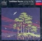 [중고] Kathleen Ferrier / Kathleen Ferrier - Song Recital (수입/4300612)