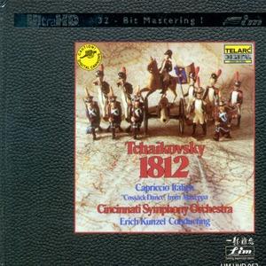 [Hi-Fi] Erich Kunzel / 차이코프스키 : 1812년 서곡 (Tchaikovsky : 1812 Overture) [Ultra HDCD] (양장반/수입)