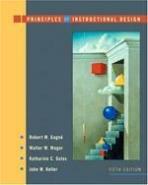 Principles of Instructional Design (Hardcover, 5, Revised)