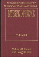 Bayesian Inference (International Library of Critical Writings in Econometrics)  (ISBN : 9781852786687)