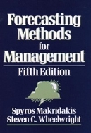 Forecasting Methods for Management(FIFTH EDITION) (무료배송)