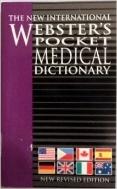 WEBSTER'S POCKET MEDICAL DICTIONARY