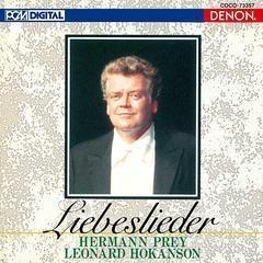 Hermann Prey / 헤르만 프라이 - 사랑의 노래 (Hermann Prey - Liebeslieder) (일본수입/33CO1254)