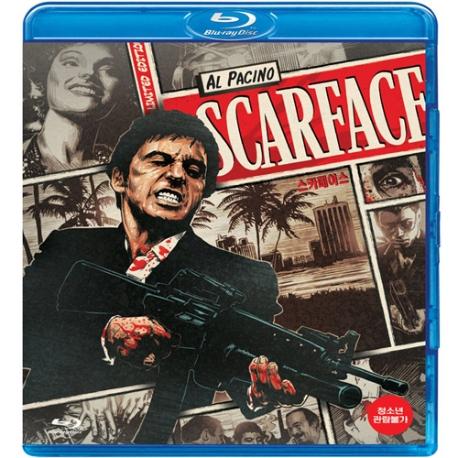 (블루레이) 스카페이스 - 릴 히어로즈 시리즈 (Scarface)