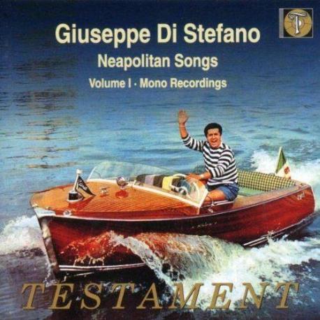 [수입] 나폴리 민요 1집 - 모노 레코딩 주세페 디 스테파노 (Giuseppe Di Stefano) Neapolitan Songs Neapolitan Songs 1