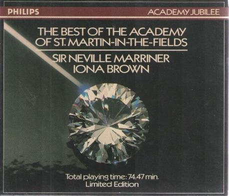 [수입] The Best of the Academy of St. Martin-in-the-fields Sir Neville Marriner, Iona Brown
