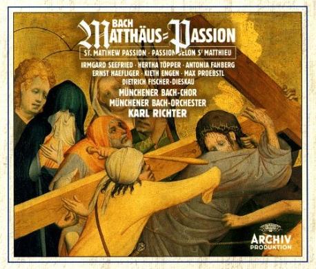 bach matthaus passion(3cd,germany)