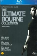 [새제품/총4편] 본 콜렉션 얼티메이트 박스세트 [블루레이 The Ultimate Bourne Collection]  - 밀봉 새 제품, 독일판, 코드프리, 한글자막, 슬림형케이스 ('본 레거시' 포함 총4편)