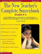 The New Teacher's Complete Sourcebook (Paperback) - Grades K-4