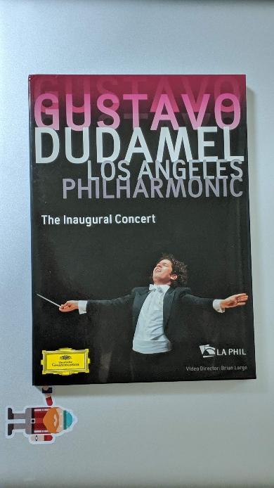 LA필하모닉 취임 콘서트: 구스타보 두다멜 JOHN ADAMS/ GUSTAV MAHLER - THE INAUGURAL CONCERT/ GUSTAVO DUDAMEL