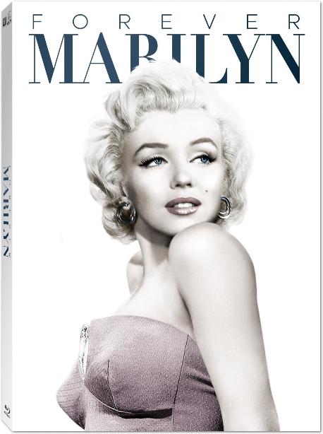 포에버 마릴린: 블루레이 컬렉션 [Forever Marilyn: Bd Collection] [블루레이 전용플레이어 사용] [초회한정 엽서 3종 세트+영화 OST 1:1증정] 미개봉, 7disk 디지팩, 미국판 직수입(국내 정발 박스세트에 수록된 6disk 한글자막 완벽지원, 미국판에만 수록된 '어울리지 않는 사람들'만 한글자막 없음), 국내플레이어재생가능(코드프리),