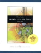 Introduction to Information Systems 14/e #