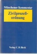Munchener Kommentar ZPO Band 1~3권