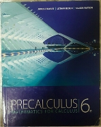 Precalculus Mathematics for Calculus (6th edition)