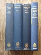 W.R. Hamilton - Mathematical Papers Volum I - IV (4 volumes set)