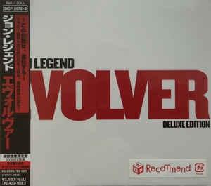 [일본반] John Legend - Evolver [CD+DVD][Deluxe Edition]