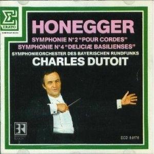 Charles Dutoit / Honegger : Symphonies Nos. 2 & 4 (수입/ECD88178)