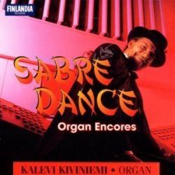 organ encores - sabre dance