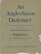 AN ANGLO-SAXON DICTIONARY (Hardcover)