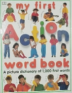 My first action word book