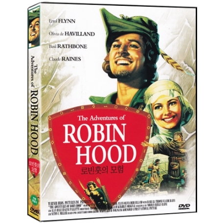 [DVD] 로빈훗의 모험 Adventures of Robin Hood