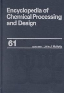 Encyclopedia of Chemical Processing and Design, Vol. 61 : Vacuum System Design, Estimations to Velocity, Terminal in Setting, Estimation (ISBN : 9780824726126)