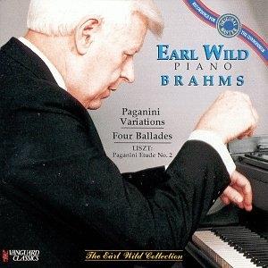 Paganini Variations / Ballades  Brahms / Liszt