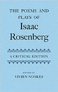 Poems and Plays of Isaac Rosenberg(Hard)