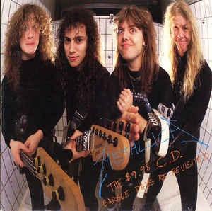 [수입] Metallica - $9.98 CD : Garage Days Re-Revisited