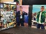 Grand Theft Auto V DVD (CD7장+게임쿠폰) #