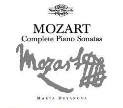 Marta Deyanova / 모차르트 : 피아노 소나타 전집 (Mozart : Complete Piano Sonatas) (6CD Box Set/수입/NI1775)