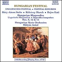 [중고] Matyas Antal / Hungarian Orchestral Festival (수입/8550142)
