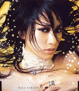 Nakashima Mika (나카시마 미카) / Legend (Single/미개봉)