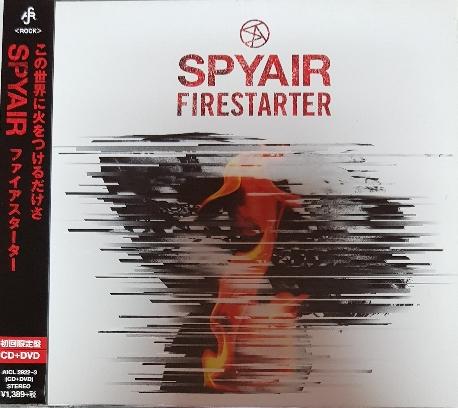 [일본반] SPYAIR - Fire Starter [CD+DVD][초회한정반]