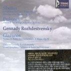 [미개봉] Gennady Rozhdestvensky / Sibelius, Prokofiev, Glazunov (YCC0059