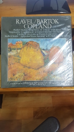 (LP)Ravel/Bartok/Copland(6LP 실사진참조)