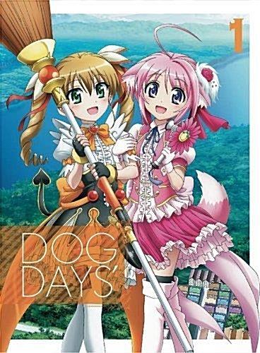 [일본판] DOG DAYS' [완전생산한정판] 전 6권 세트 [Blu-ray세트]