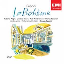Roberto Alagna, Leontina Vaduva, Antonio Pappano / 푸치니 : 라 보엠 (Puccini : La Boheme) (2CD Box Set/수입/3586502)