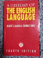 A history of the English language 4판