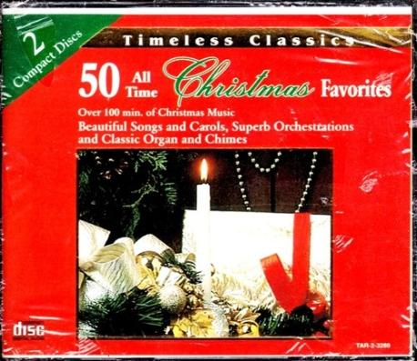 [수입] 50 All Time Christmas Favorites [2CD]
