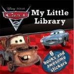(비닐미개봉 새책) Disney Little Library : Disney Cars 2 (Boardbook)