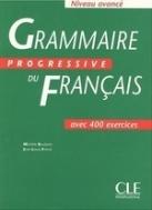Grammaire progressive du francais, niveau avance, livre