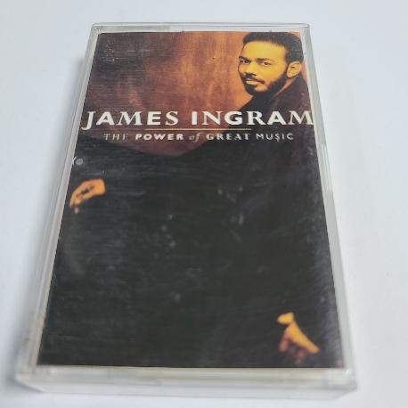 (중고 카세트 테이프) James Ingram - Greatest Hits : The power of great music